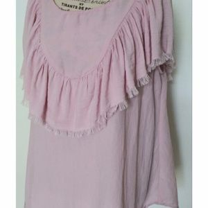 Feminine Umgee Blush Flirty Top